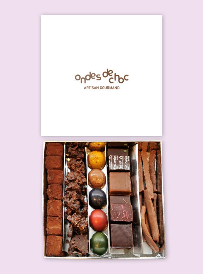 coffret composé, ondes de choc, Craponne, chocolatier